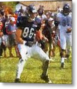 Chicago Bears Te Zach Miller Training Camp 2014 Pa 02 Metal Print