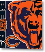 Chicago Bears Metal Print