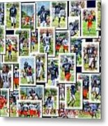 Chicago Bears Training Camp 2014 Collage Pa 01 Metal Print