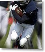Chicago Bears Training Camp 2014 Moving The Ball 07 Metal Print
