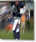 Chicago Bears Wr Armanti Edwards Moving The Ball Training Camp 2014 Metal Print