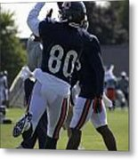 Chicago Bears Wr Armanti Edwards Training Camp 2014 04 Metal Print