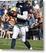 Chicago Bears Wr Armanti Edwards Training Camp 2014 07 Metal Print