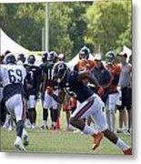 Chicago Bears Wr Brandon Marshall Training Camp 2014 05 Metal Print