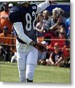 Chicago Bears Wr Chris Williams Training Camp 2014 04 Metal Print