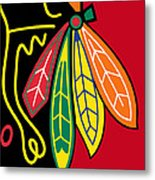 Chicago Blackhawks 2 Metal Print