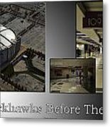 Chicago Blackhawks Before The Gates Open Interior 2 Panel Sb 01 Metal Print