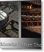 Chicago Blackhawks Before The Gates Open Interior 2 Panel Sb Metal Print