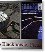 Chicago Blackhawks Please Stand 2 Panel Sb Metal Print