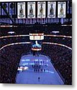 Chicago Blackhawks Please Stand Up Metal Print