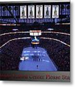 Chicago Blackhawks Please Stand Up With Red Text Sb Metal Print