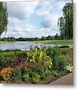 Chicago Botanical Gardens - 95 Metal Print by Ely Arsha