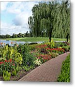 Chicago Botanical Gardens - 96 Metal Print by Ely Arsha