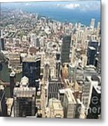 Chicago Buildings Metal Print
