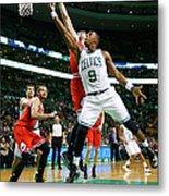 Chicago Bulls V Boston Celtics Metal Print