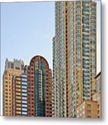 Chicago - Chi-town - Chitown - The City Beautiful Metal Print by Christine Till