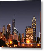 Chicago City Metal Print