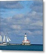 Chicago Clipper Metal Print