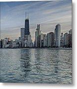 Chicago Coast Metal Print by Donald Schwartz