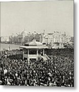 Chicago Day At Worlds Fair Columbian Exposition 1893 Metal Print