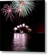 Chicago Fireworks Metal Print
