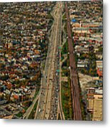 Chicago Highways 01 Metal Print