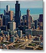 Chicago Highways 05 Metal Print