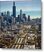 Chicago Highways 06 Metal Print