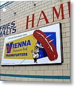 Chicago Hot Dog Joint Metal Print