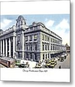 Chicago Illinois - Northwestern Railroad Station - 1927 Metal Print