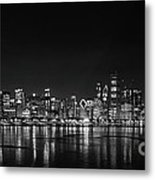 Chicago January Metal Print