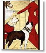 Chicago Kennel Club's Dog Show - Advertising Poster - 1902 Metal Print