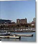 Chicago Lakefront - Soldier Field To Willis Tower Metal Print by David Bearden