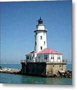 Chicago Lighthouse Metal Print