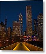 Chicago Lights Metal Print
