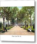 Chicago - Lincoln Park - 1910 Metal Print