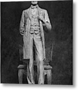 Chicago Lincoln Statue Metal Print