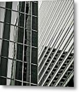 Chicago Lines Metal Print