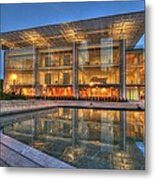 Chicago Modern Art Wing Metal Print