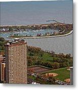 Chicago Montrose Harbor 01 Metal Print