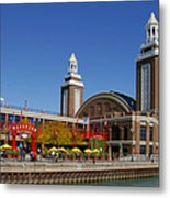 Chicago Navy Pier Headhouse Metal Print