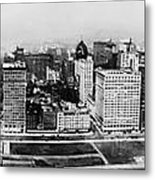 Chicago Panorama 1915 Metal Print
