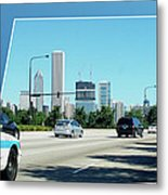 Chicago Pd Metal Print