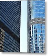 Chicago Photography - Urban Abstract Metal Print