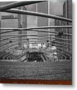 Chicago Pritzker Music Pavillion Sc Triptych 3 Panel Metal Print