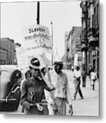 Chicago Protest, 1941 Metal Print