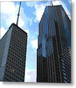 Chicago - Prudential Building Metal Print