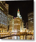 Chicago River Metal Print
