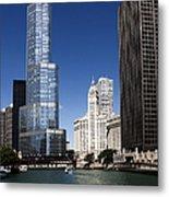 Chicago River Scenic Metal Print