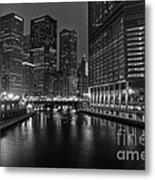 Chicago Riverwalk Metal Print by Eddie Yerkish